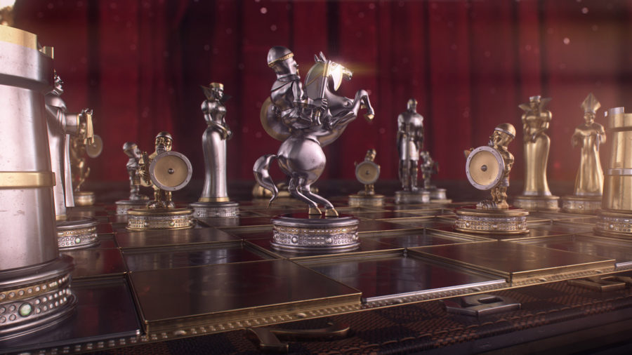 Louis Vuitton – Chess Set